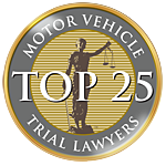 Top 25 Motor Vechicle Trial Lawyers