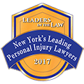 Leaders in the law New York's Leading Personal Injury Lawyers 2017