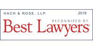Hach & Rose, LLP Best Lawyers 2019