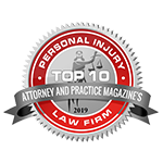 Top Ten Personal Injury Attorney Logo, Attorney and practice Magazine
