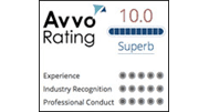 Avvo Rating 10.0 Superb Logo